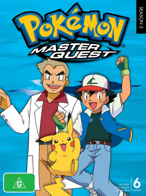 Pokemon Master Quest (2002) [Sezon 5] DubPL.TVRip.XviD | Dubbing PL