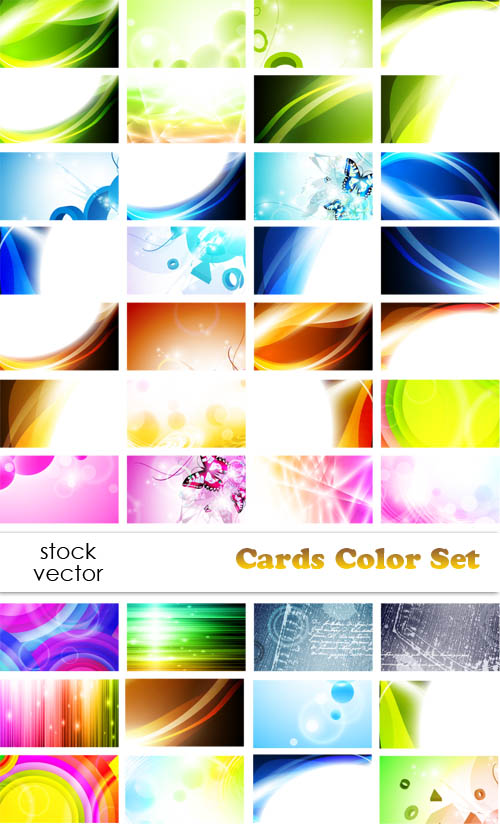 Vectors - Cards Color Set