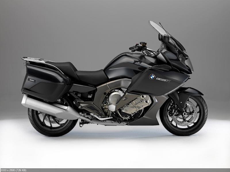 Туристические мотоциклы BMW K1600GT и BMW K1600GTL (2013)