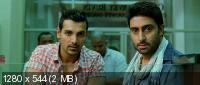 Близкие друзья / Dostana (2008) BDRip 720p + HDRip