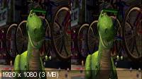 История игрушек 2 3D / Toy Story 2 3D (1999) BDRip 1080p