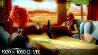 Золушка: Полный вперед! / Cendrillon au Far West (2012) BluRay + BDRip 1080p / 720p + HDRip 1400/700 Mb