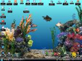 Анимированные обои Живой аквариум на рабочем столе